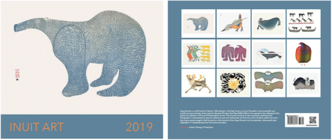 2019 Cape Dorset Inuit Art calendar